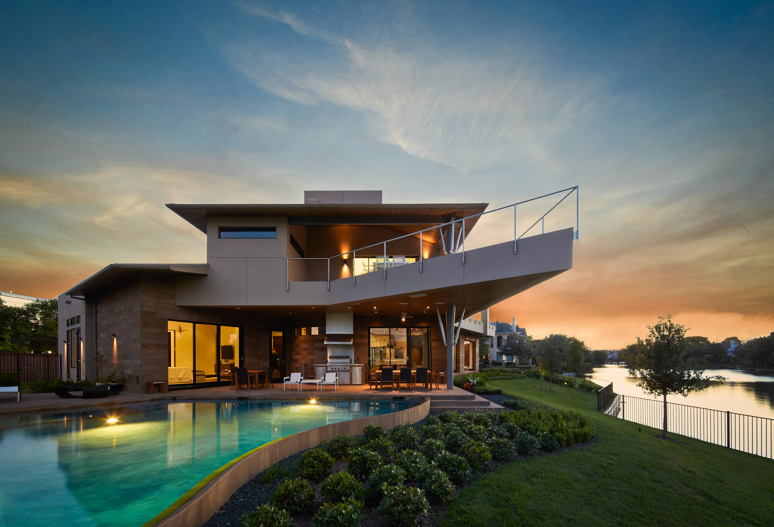 October 2012 sims luxury builders blog for Contemporary custom home builders